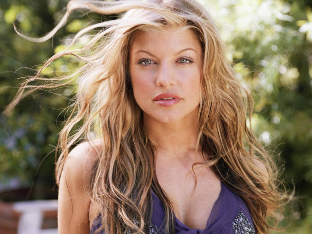 Fergie Natural Hair Color
